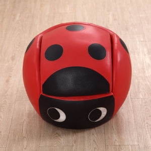 High Quality Comfortable Kids Ladybug Round Shape Sofa/Kids Furniture pictures & photos