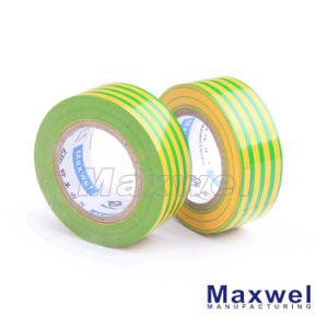 PVC Insulation Electrical Tape (yellow&green) pictures & photos