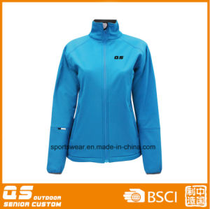 Lady′s Outdoor Softshell High Quality Jacket pictures & photos