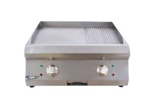 Commercial Counter-Top Electric Griddle (1/2 grooved) Et-Pl-600bp pictures & photos
