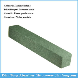 2g Rectangle Shaped Medium Grit Green Dental Cleaning Stone pictures & photos