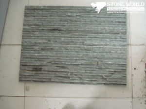 Grey Waterfall Ledgestone Tiles for Wall Panel (CS048) pictures & photos