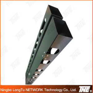 Metal Vertical Cable Management with Magnetometric Cover pictures & photos
