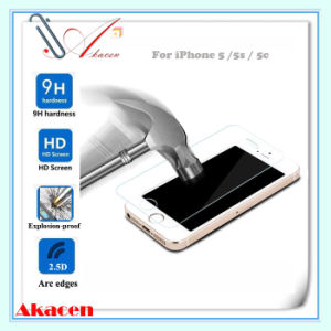 HD 9h Explosion-Proof Tempered Glass Screen Guard for iPhone 5/5s/5c (Arc Edge)