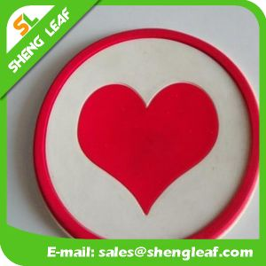 Cheap High Quality Soft Rubber Silicone Coaster (SLF-RC039) pictures & photos