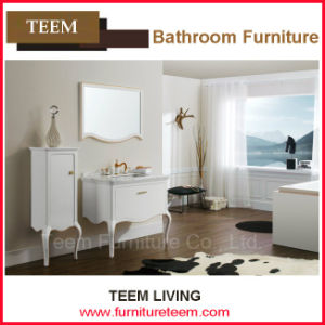 Wenzhou Furniture Cabinet in Bathroom of Ceramic Vanity pictures & photos