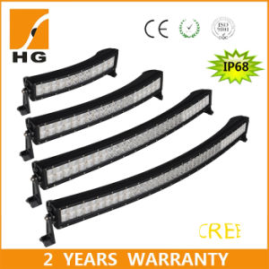 CREE LED Light Bar for Truck (50inch curved Headlight 4D 288W 4X4 Offroad) pictures & photos