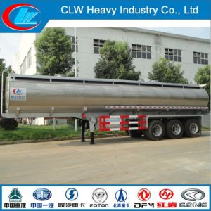 Saso DOT Chemical Oil Fuel Tank Trailer Stainless Steel Tank pictures & photos