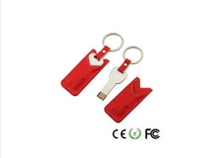 USB Disk Key Leather USB Flash Drive 2g 4G 8g 16GB pictures & photos