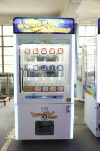 Key Master Coin Pusher Gift Game Arcade Machine for Sale pictures & photos