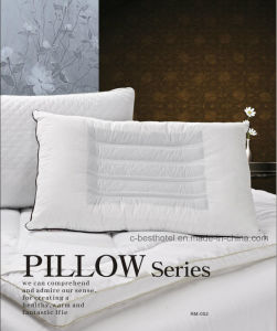 100% Cotton Material Duck Down Feather Pillows pictures & photos