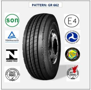 All Steel Radial Truck & Bus Tires with ECE Certificate 12r22.5 (GR662 GR678 GR881) pictures & photos