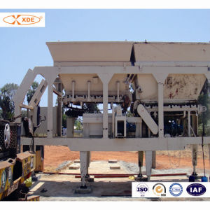 300ton/H Mobile Sub Base Mixing Plant for Road Construction