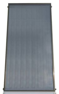 Anode Oxidation Flat Plate Solar Collector pictures & photos
