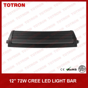 "13.5"" 72W Curved off Road LED Light Bar with CREE LEDs (TLB3072X) pictures & photos"
