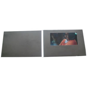 High Quality 7inch TFT LCD Screen Business Video Card pictures & photos