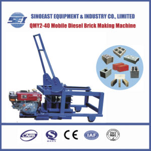 Qmy2-40 Mobile Diesel Brick Making Machine pictures & photos