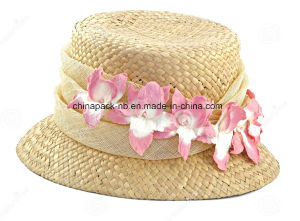Paper Straw Bucket Hats for Lady (CPA_80046) pictures & photos