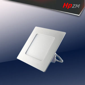 Yellow Aluminum Round Square LED Panel Light pictures & photos