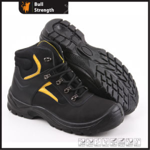 Industrial Leather Safety Boots with Steel Toe and Steel Midsole (SN5182) pictures & photos