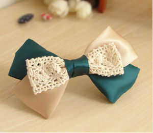 Custom Bowknot Hair Clip Wholesale pictures & photos