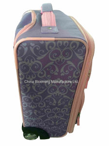 Cartoons Kids Wheeled Trolley Rolling Travel Suitcase Luggage Bag pictures & photos