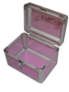 High Quality Aluminum Professional Beauty Trolley Case Makeup Case pictures & photos