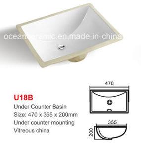 Ceramic Rectangular Under Counter Basin (No. U18B) , Wash Basin, Lavabo pictures & photos