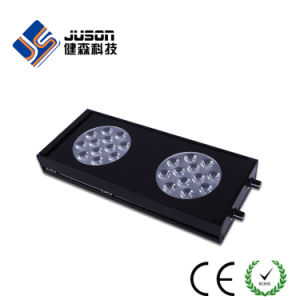 Sliver and Black Shell Dimmable LED Aquarium Lamp Aql-3X-72W pictures & photos