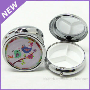 Customized Metal Portable Pill Container pictures & photos