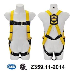 ANSI Full Body Harness (JE115021+JE321237Y) pictures & photos