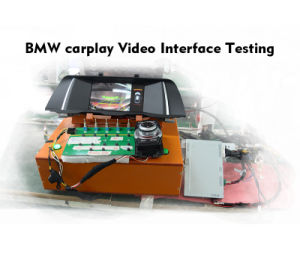 BMW Video Interface 2013-2017 Support Front / Right / Traffic Recorder / Reversing Image / 360 Panoramic Car Video Interface for BMW Nbt Hualingan pictures & photos