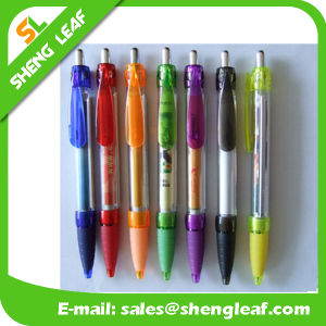 Special Plastic Individuals Advertising Pens with Custom Logo (SLF-LG017) pictures & photos