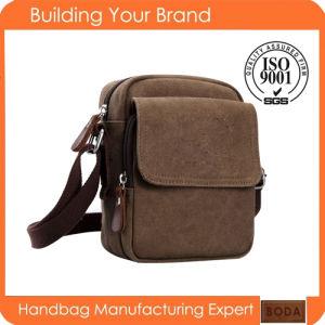 New Design Men Canvas Leisure Single Shoulder Bag pictures & photos