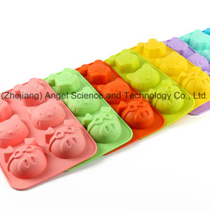 Milky Mouse Kitty Pig Shape Silicone Cake Mold Baking Tool Sc23 pictures & photos
