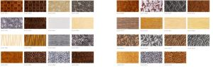 2015 New 3D Interior Embossing Wall Panel for Home Decoration (8052) pictures & photos