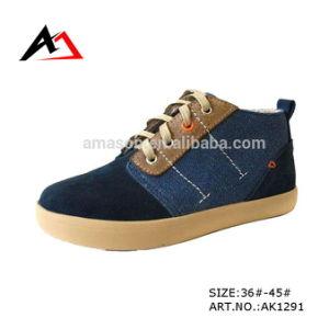 Sneaker Canvas Shoes Hot High Cut Leisure Men Shoe (AK1291) pictures & photos