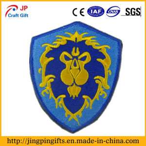 Custom 2D or 3D Garment Embroidered Patches 3 pictures & photos
