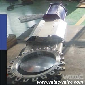 Pneumatic Full Lug Knife Gate Valve pictures & photos