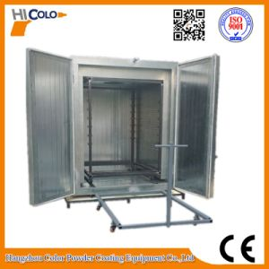 Electric Trolley & Tuunel /Trolley Convery Tuunel Powder Coating Curing Oven pictures & photos