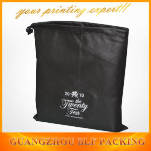 Custom Black Simple Pouch Nylon Packaging Bags Shopping (BLF-NW172) pictures & photos