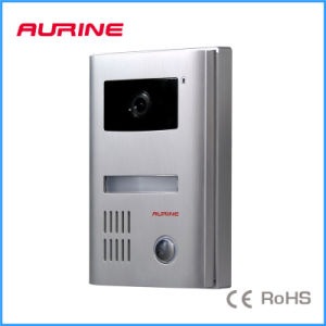 Color High Quality Aluminum Video Intercom Door Phone Entry A4-M11cm