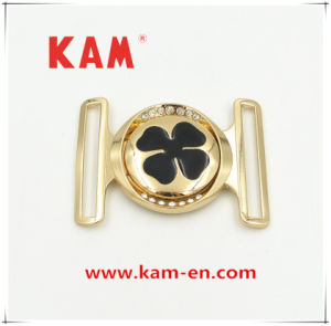 Lemon Gold Wholesale Decorative Custom Zinc Alloy Metal Dress Buckle