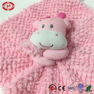 Cute Pink Cow Blue Elephant Baby Care Bathroom Wash Blanket pictures & photos