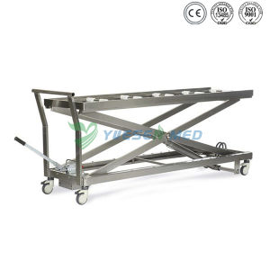 Medical Mortuary Toom Stainless Steel Mortuary Lifter pictures & photos