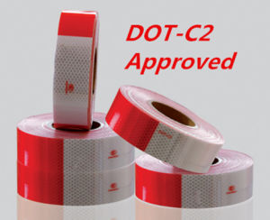DOT-C2 Reflective Tape for Vehicle Conspicuity (CTP-100) pictures & photos