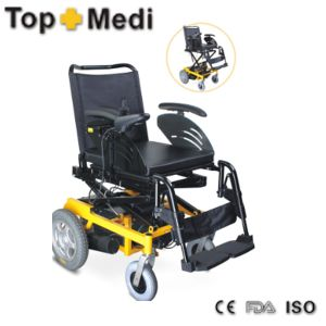 Topmedi Lifting Standing up Electric Power Wheelchair pictures & photos
