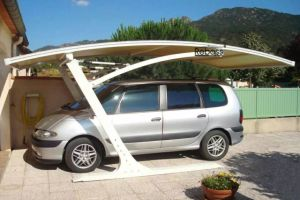 Coffee Color Aluminum Frame Carport pictures & photos