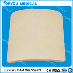 Post-Operative Wounds Silver Wound Dressing Foam Sheet with 510k pictures & photos