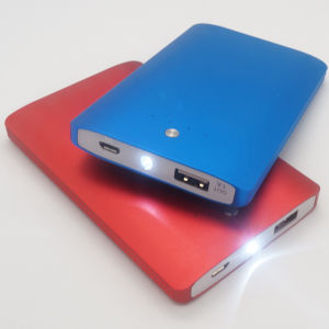 Private Model 4000mAh LED Lighting Emergency Power Bank Charger (PB-J22) pictures & photos